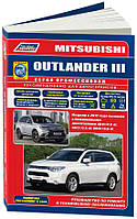 Книга Mitsubishi Outlander 3 Мануал по ремонту, эксплуатации, каталог деталей