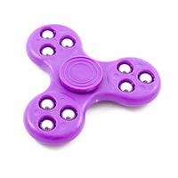 Спиннер - игрушка антистресс, Fidget spinner, фиолетовый