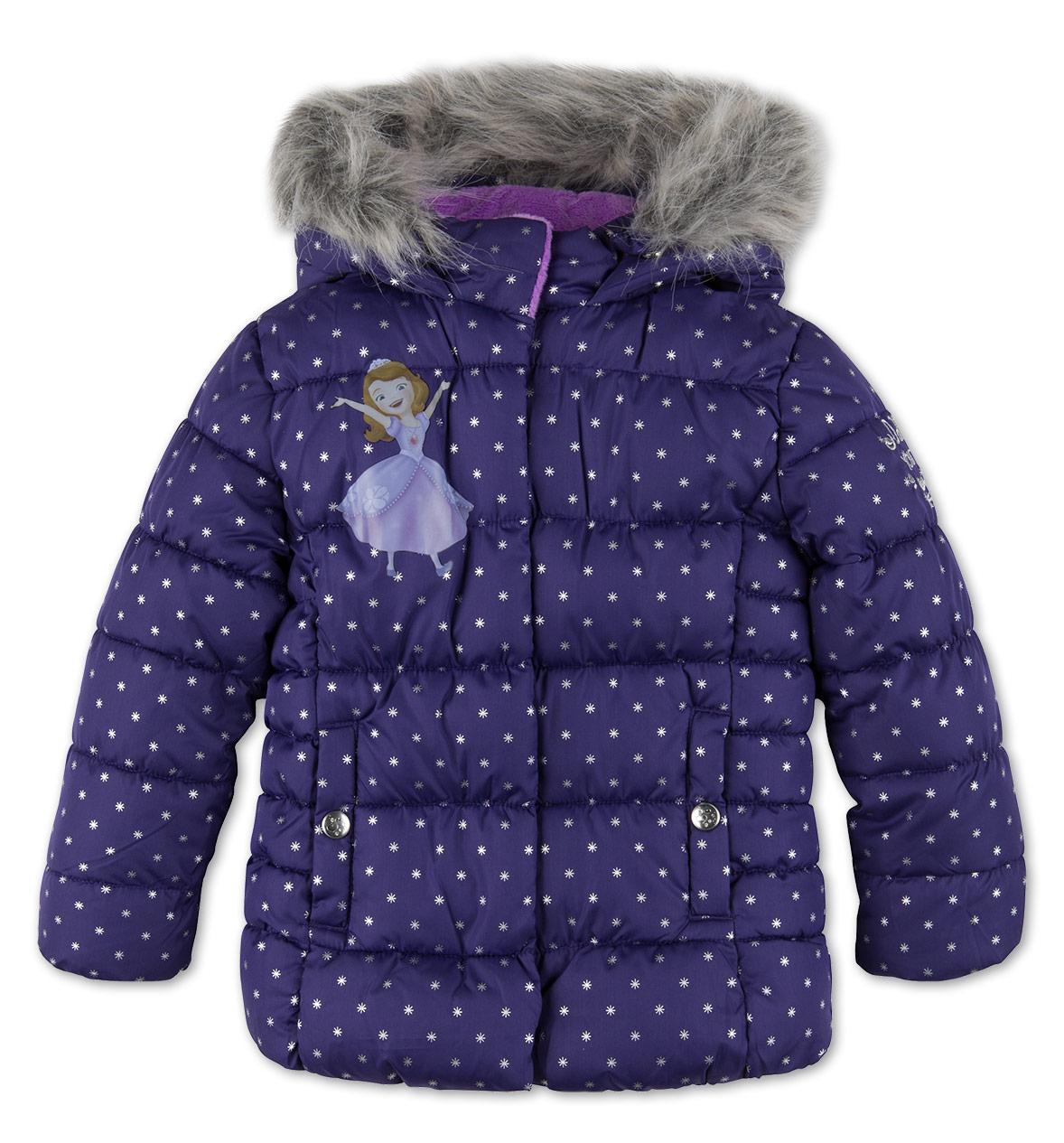 Детская зимняя куртка с Софией Прекрасной C&A Германия Размер 92