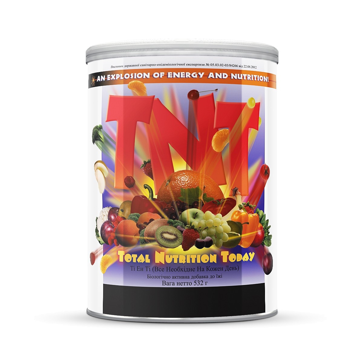 Витаминный коктейль для бодрости TNT