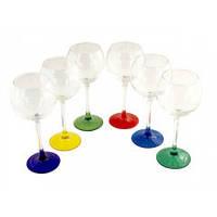"Набор бокалов стекло ""Эдем"" 350 мл (Вино) 3656"