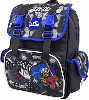 Рюкзак школьный ортопедический для мальчика 1-4 класс, Delune