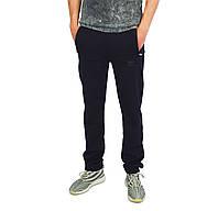 Темно-Синие мужские трикотажные штаны спортивные ADIDAS