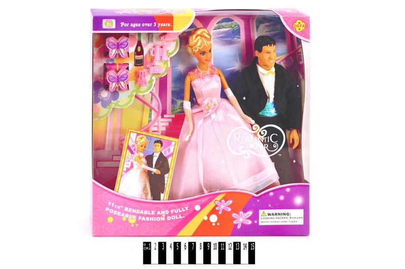 Кукла Defa Lucy Свадьба 20991, коробка 34х6х33 см