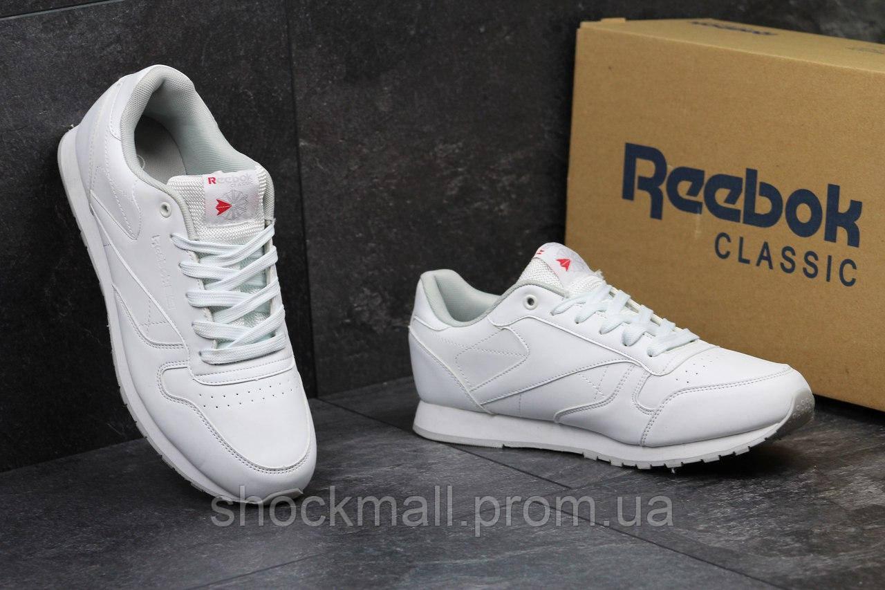 40f130599aad Купить Белые кроссовки Reebok кожа Вьетнам недорого, выбор моделей ...