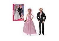 Кукла Defa Lucy - невеста с женихом 8305, коробка 22,5*5,5*32,5 см