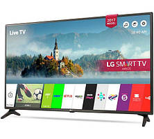 Телевизор LG 43LJ594v (PMI 1000 Гц, Full HD, Smart TV, Wi-Fi, Virtual Surround Plus 2.0 10Вт)