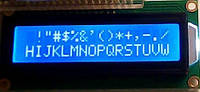 LCD Дисплей. Экран 1602A (Синий) HD44780 Arduino