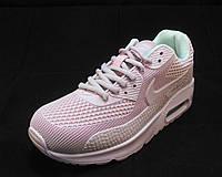 Кроссовки женские Nike Air Max 90 розовые (р.36,37,40)