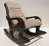 "Кресло-качалка ""Абсолют"". Цвет каркаса и ткани можно изменять"