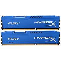 Память ПК Kingston DDR3 1600MHz 16Gb HyperX Fury Blu (2x8GB) (HX316C10FK2/16)