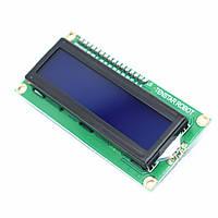 LCD Дисплей 1602A / модуь-переходник IIC/I2C (Синий) HD44780 Ardгuino