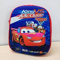 Детский 3d рюкзак «Тачки» Макквин (Mcqueen)