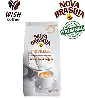Кофе в зёрнах Nova Brasilia Privilege 1000 г  - Зерновой кофе Новая Бразилия 1000г (1кг) Болгария