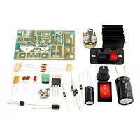 Конструктор модуль регулятора напряжения LM317, Собери