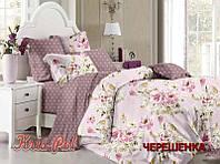 Двуспальный набор постельного белья 180*220 из Сатина №161 KRISPOL™