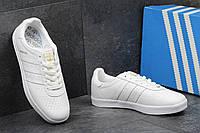 Кроссовки кеды мужские Adidas 350 белые Индонезия