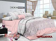 Семейный набор хлопкового постельного белья из Сатина №162 KRISPOL™