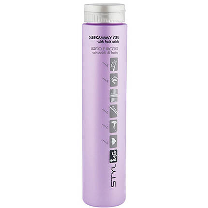 Styling Sleek And Wavy Gel — Гель для прямих і кучерявих волосся Styling (250 мл), фото 2
