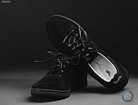 Мужские кеды (низкие) Staff - LOW black Art. NZ0001 (чёрный)