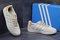 Кеды мужские Adidas 350 бежевые замша Индонезия