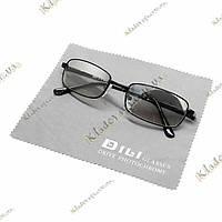 Очки-антифары для водителей Dili в черной оправе, фото 1