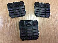 Клавиатура для телефона Нокиа 6303 черная,серебро,золото.Кат.Extra Plus