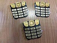Клавиатура для телефона Нокиа 6303 золотая,серебро,черная.Кат.Extra Plus