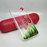 "Чехол силикон ""Tulips"" для Xiaomi Redmi 4x"