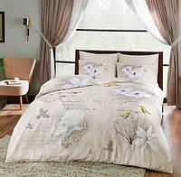 Двуспальное евро постельное белье TAC Brenna Сатин