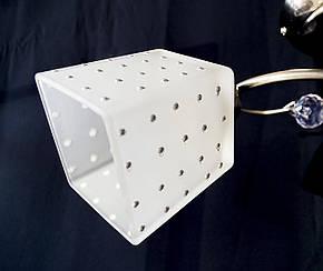 Люстра потолочная на 2 лампочки  P3 - 37275 B-2c (CL+WT), фото 2