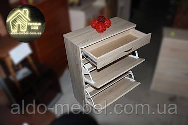 Тумба для взуття (ящик на телескопах) Габарити Ш - 700 мм; В - 920 мм; Г - 310 мм (Власне виробництво)