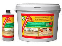 Клей двухкомпонентный полиуретановый СикаБонд ПУ 2К для деревянных покрытий комплект 8,9 кг. (А+В)