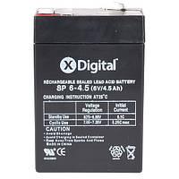 Свинцово-кислотный аккумулятор X-DIGITAL SP 6-4.5 SW645 6В 4500мАч