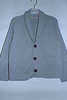 Кофта-пиджак для мальчика 6-13 лет