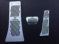 Накладки на педали Hamann для BMW Х6 e71