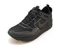 Кроссовки Nike текстиль черные унисекс (р.36,37,38,39,40,41)