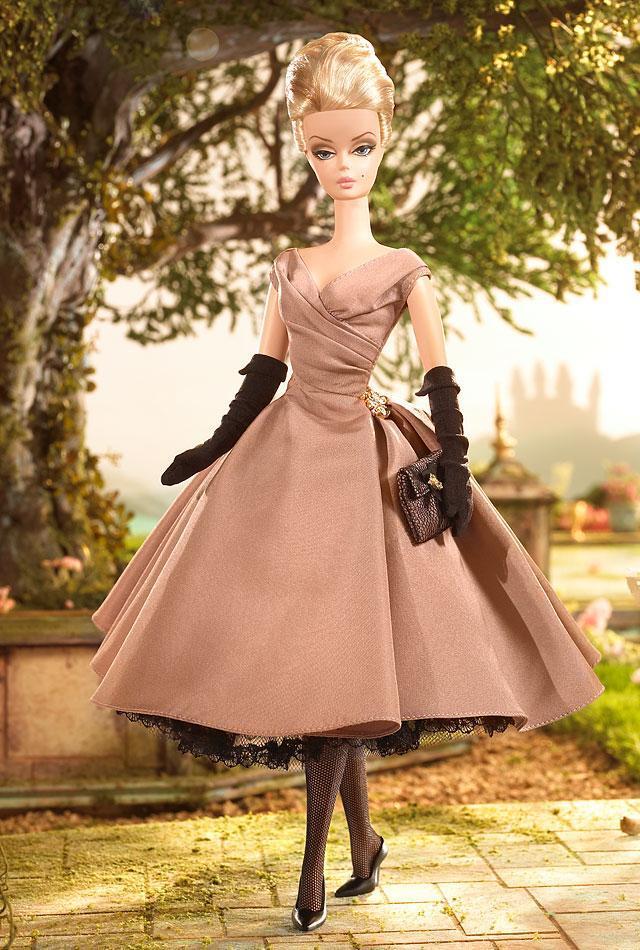 Колекційна лялька Барбі Силкстоун / Silkstone Fashion Model High Tea And Savories Barbie Doll Giftset