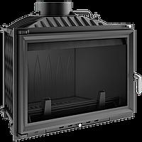Каминная топка kratki wiktor glass (двойное стекло)- 14 кВт чугунная