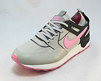 Кроссовки женские Nike текстиль серые (р.36,37,38,39,40,41)