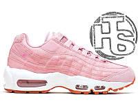 Женские кроссовки Nike Air Max 95 Pink 807443-600