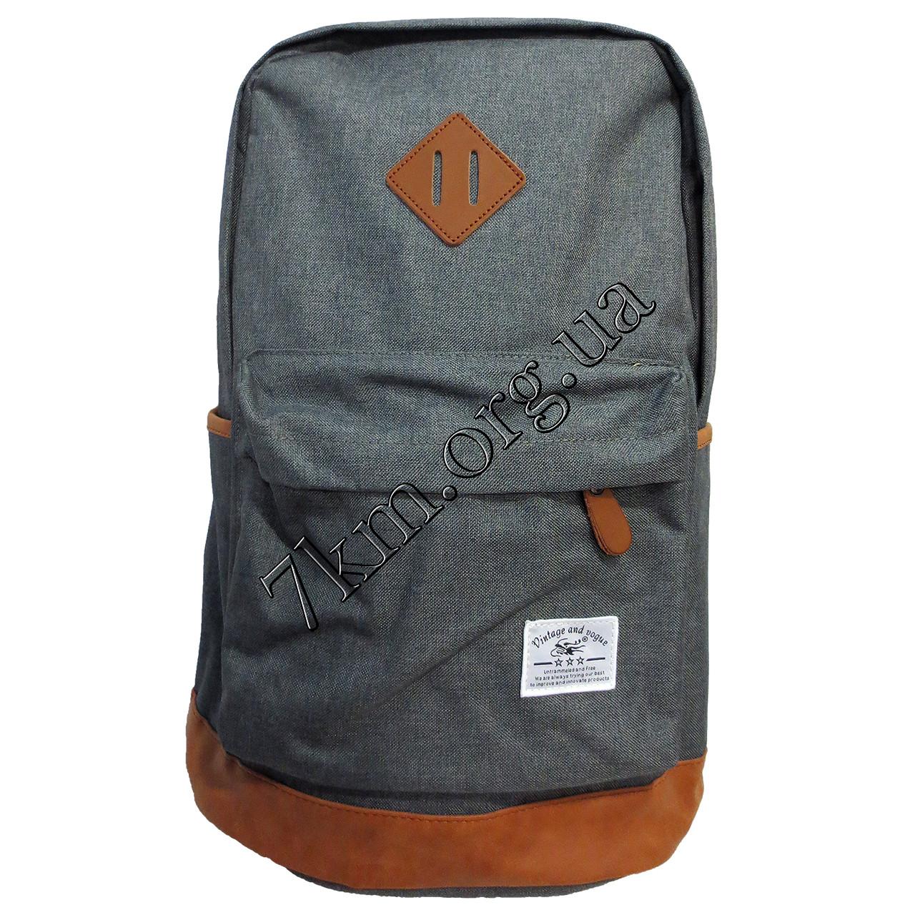 Рюкзак детский школьный для мальчиков (47х40см.) 710 серый