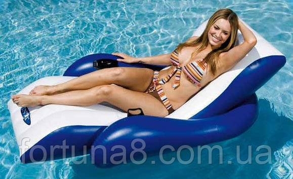 Пляжное надувное кресло - шезлонг Intex 58868 - Интернет магазин Фортуна в Одессе