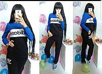 Женский спортивный костюм Adidas черный