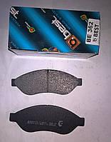Тормозные колодки передние Citroen Jumper с 2006г