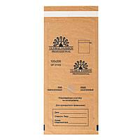 Крафт пакеты для паровой и воздушной стерилизации, 100х250 мм, 100 шт