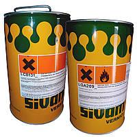 Лак полиуретановый высокоглянцевый LGA 209 Sivam (Италия)(канистра 25 л)
