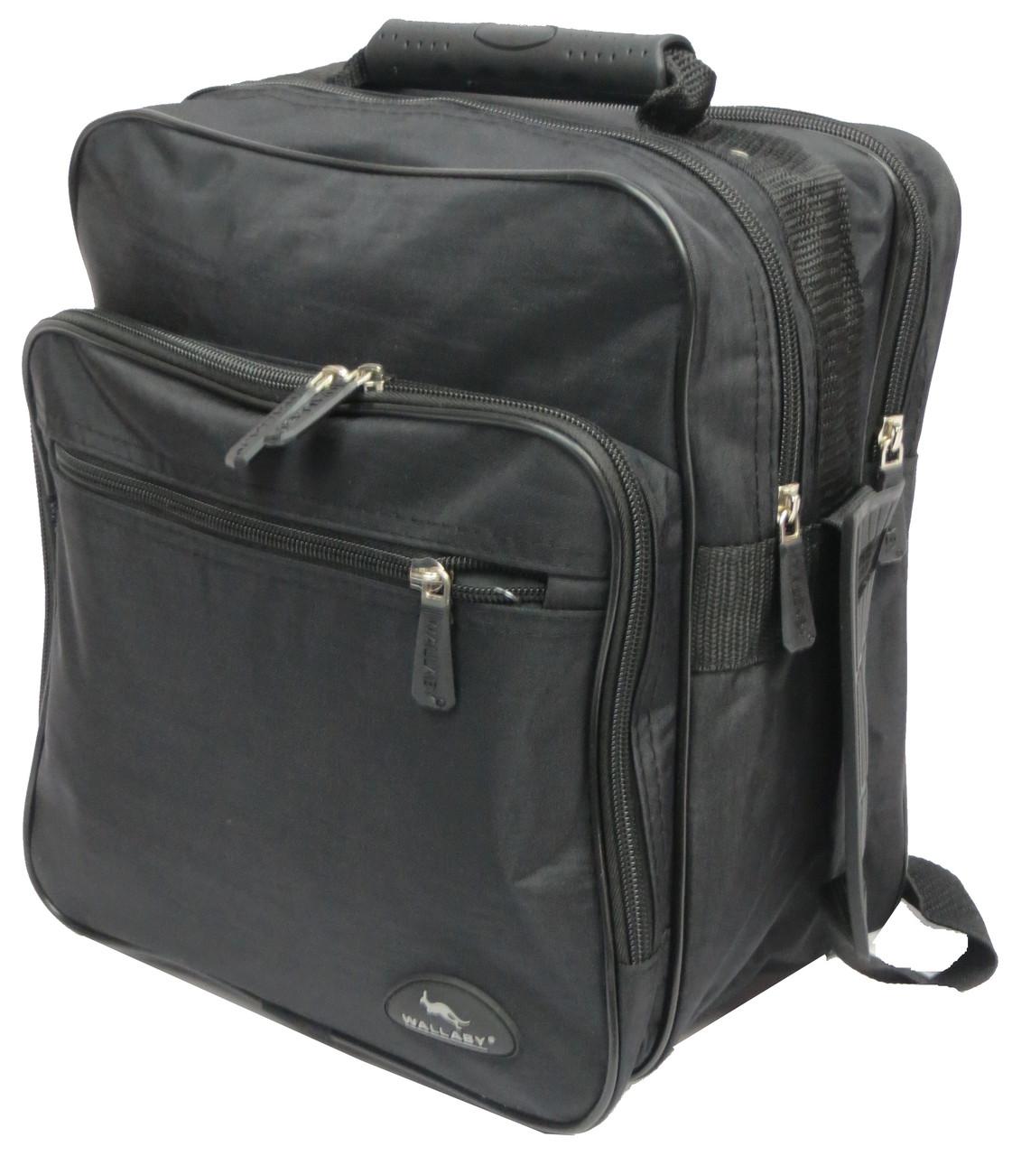 47034e541a36 Мужская сумка-барсктка для города Wallaby 2437 черный — только ...