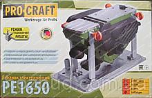 Рубанок Procraft PE1650 (переворотный, 1650 Вт)