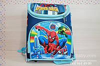 Школьный каркасный рюкзак Спайдермен 27х20x37см